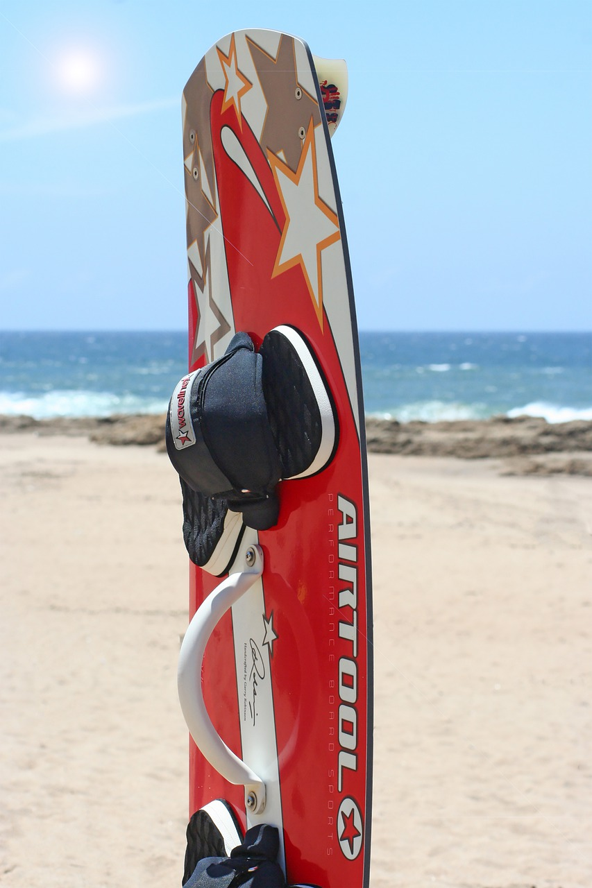 kite board, sea, summer